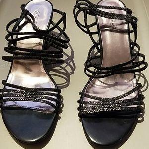 Laura Scott Black Heels